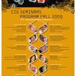 CIG seminars