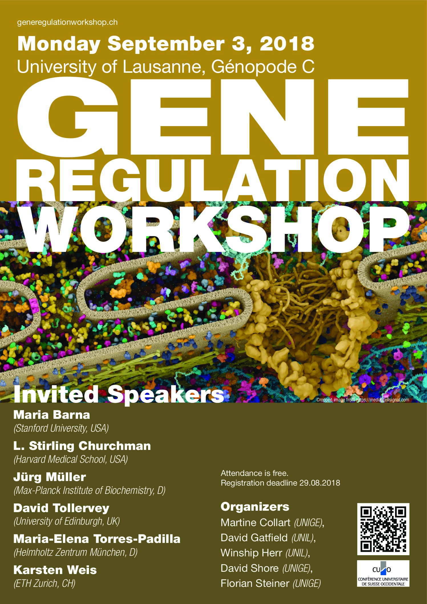 Dear all, The 2018 SKMB Gene Regulation Workshop will take place on Monday September 3. As in previous years, we have a great lineup of speakers and attendance is free. […]