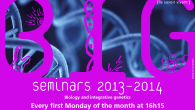 (download the poster) BIG seminars 2013-2014 Biology and integrative genetics Every first Monday of the month 16h15, Auditorium Biophore Building UniL-Sorge at Dorigny