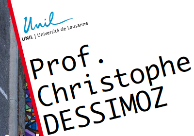 "Prof. Christophe DESSIMOZ DEE & CIG Wednesday October 14, 2015, 12:15 Biophore, Amphithéâtre ""Hierarchical Orthologous Groups: A unifying and scalable framework for large-scale gene evolution""           […]"
