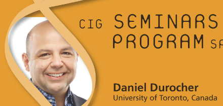 CIG Seminars Spring 2016 Monday 12:15, Génopode, auditorium B, followed by sandwiches Download the poster Monday May 9, 2016 Daniel Durocher, University of Toronto, Canada «Understanding and manipulating the response to […]