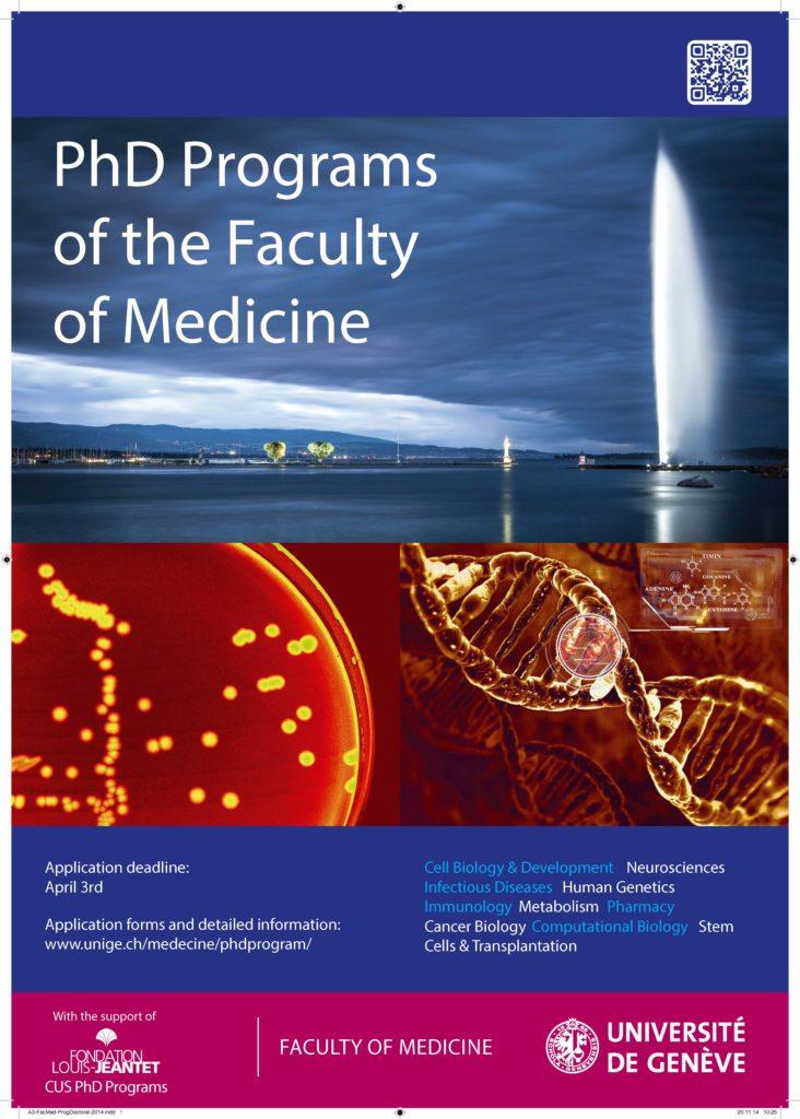 Geneva PhD school