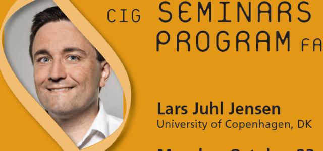 CIG Seminars Fall 2017 Monday 12:15,Génopode, auditorium B, followed by sandwiches Download the poster Monday October 23, 2017 Lars Juhl Jensen, University of Copenhagen, DK «Text/data mining of biological networks […]