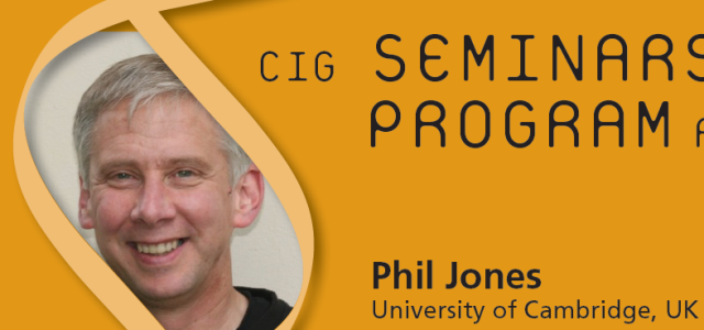 CIG Seminars Fall 2015 Monday 12:15, Génopode, auditorium B, followed by sandwiches Download the poster Monday October 19, 2015 Phil Jones, University of Cambridge, UK «Evolving stem cell dynamics during squamous […]