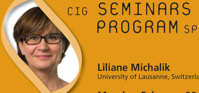CIG Seminars Spring 2016 Monday 12:15,Génopode, auditorium B, followed by sandwiches Download the poster Monday February 29, 2016 Liliane Michalik, University of Lausanne, Switzerland «PPARs and the skin: it's a […]