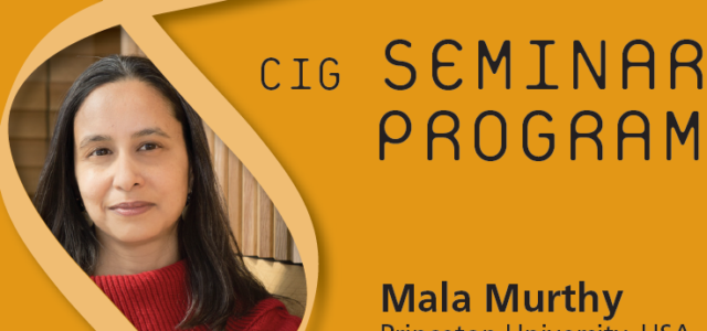 CIG Seminars Spring 2017 Monday 12:15,Génopode, auditorium B, followed by sandwiches Download the poster Monday June 26, 2017 Mala Murthy, Princeton University, USA «Neural mechanisms for dynamic acoustic communication in […]