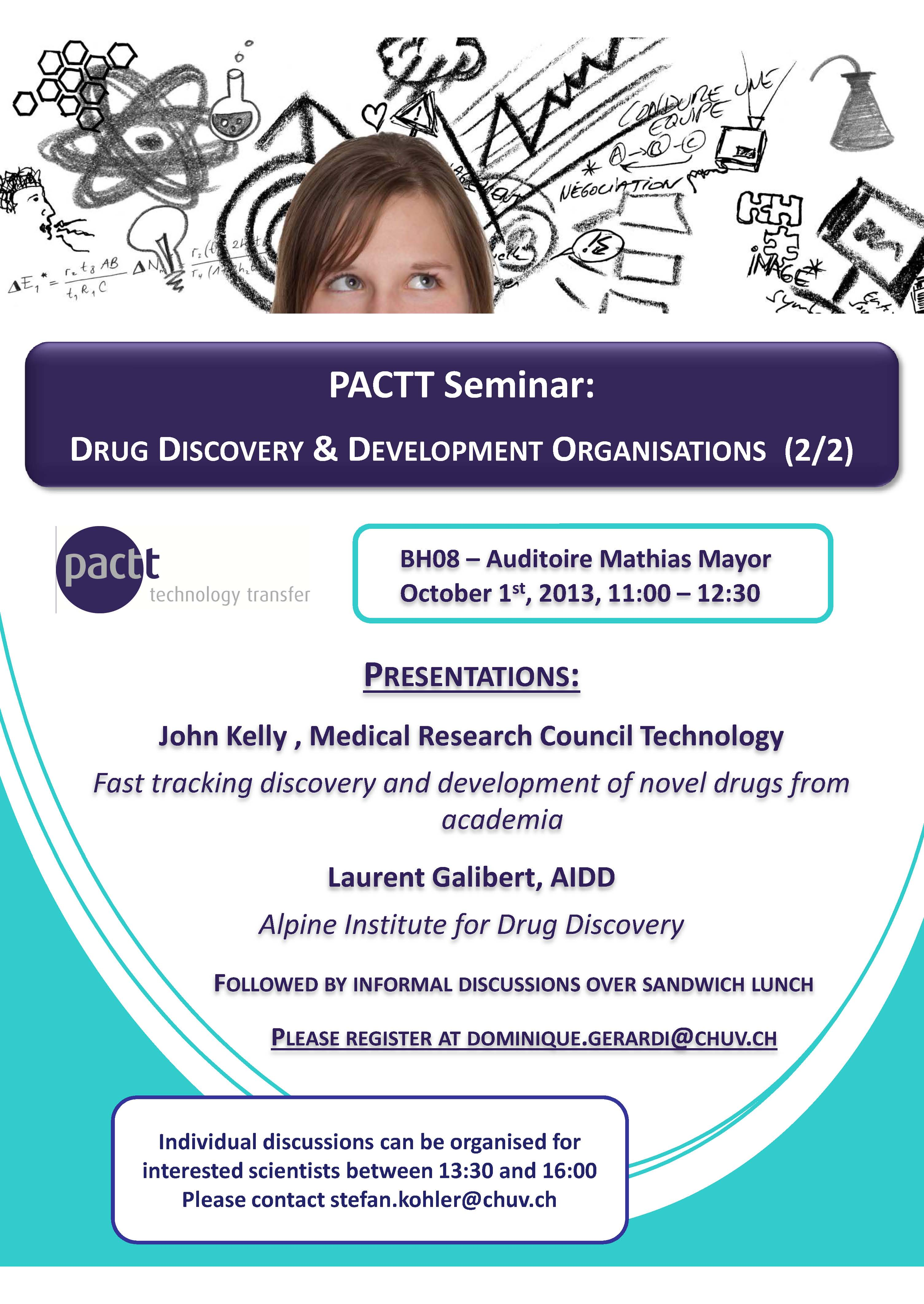 PACTT Seminar October 1