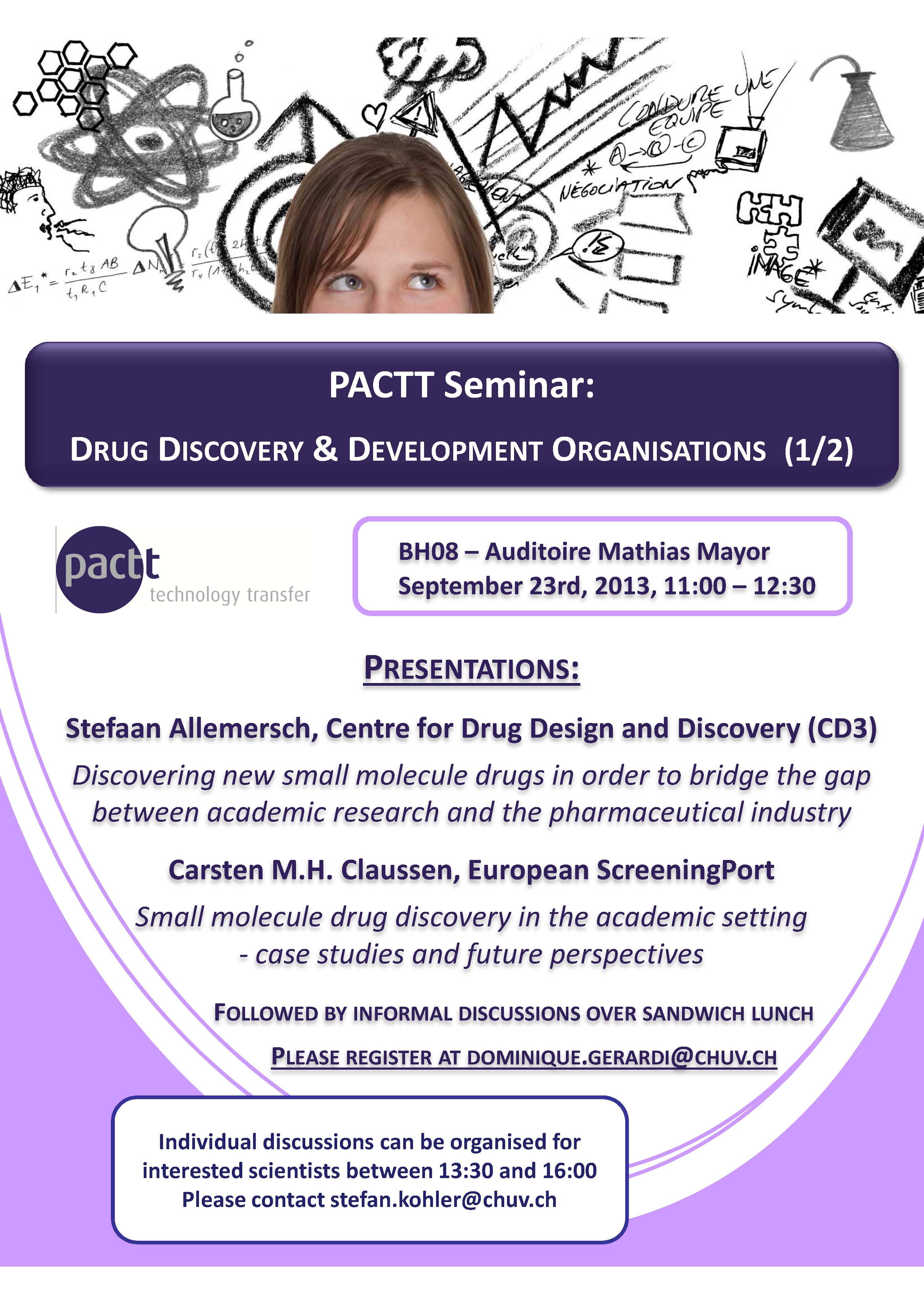 PACTT Seminar September 23