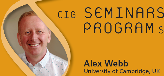 CIG Seminars Spring 2017 Monday 12:15, Génopode, auditorium B, followed by sandwiches Download the poster Monday March 13, 2017 Alex Webb, University of Cambridge, UK «Signalling pathways regulating the circadian clock […]