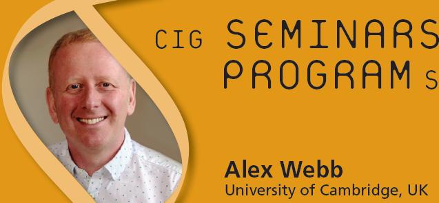 CIG Seminars Spring 2017 Monday 12:15,Génopode, auditorium B, followed by sandwiches Download the poster Monday March 13, 2017 Alex Webb, University of Cambridge, UK «Signalling pathways regulating the circadian clock […]