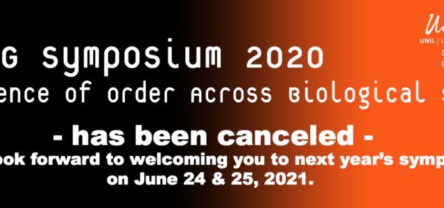 We regret that all events at the University of Lausanne have just been canceled until September 2020. As members of the organization committee, we therefore sadly decided neither to postpone nor to virtualize our symposium, […]