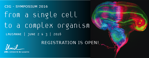 The Faculty of the CIG is organizing this year again itsfamous CIG Symposium on the topic: From a single cell to a complex organism Link to the CIG Symposium website […]