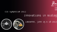 The Faculty of the CIG is organizing this year again itsfamous CIG Symposium on the topic: Innovations in Biology Link to the CIG Symposium website  Link to the registrationonline […]