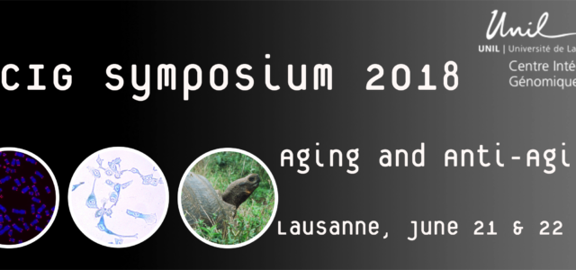 Link to the CIG Symposium website Link to the online registration form& sign in afterwards to submit your abstract Link to reset your password Link to theprogramme