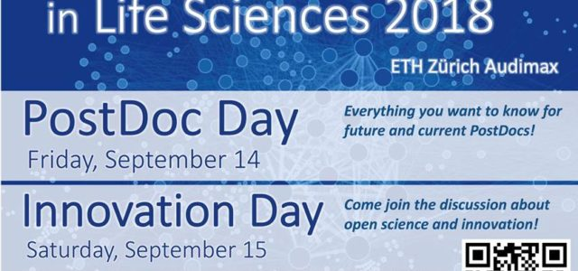 Dear postdoctoral fellows and PhD students, We are pleased to announce and invite you to the Life Sciences PostDoc Day 2018 , which will be held at ETH Zurich main building on […]